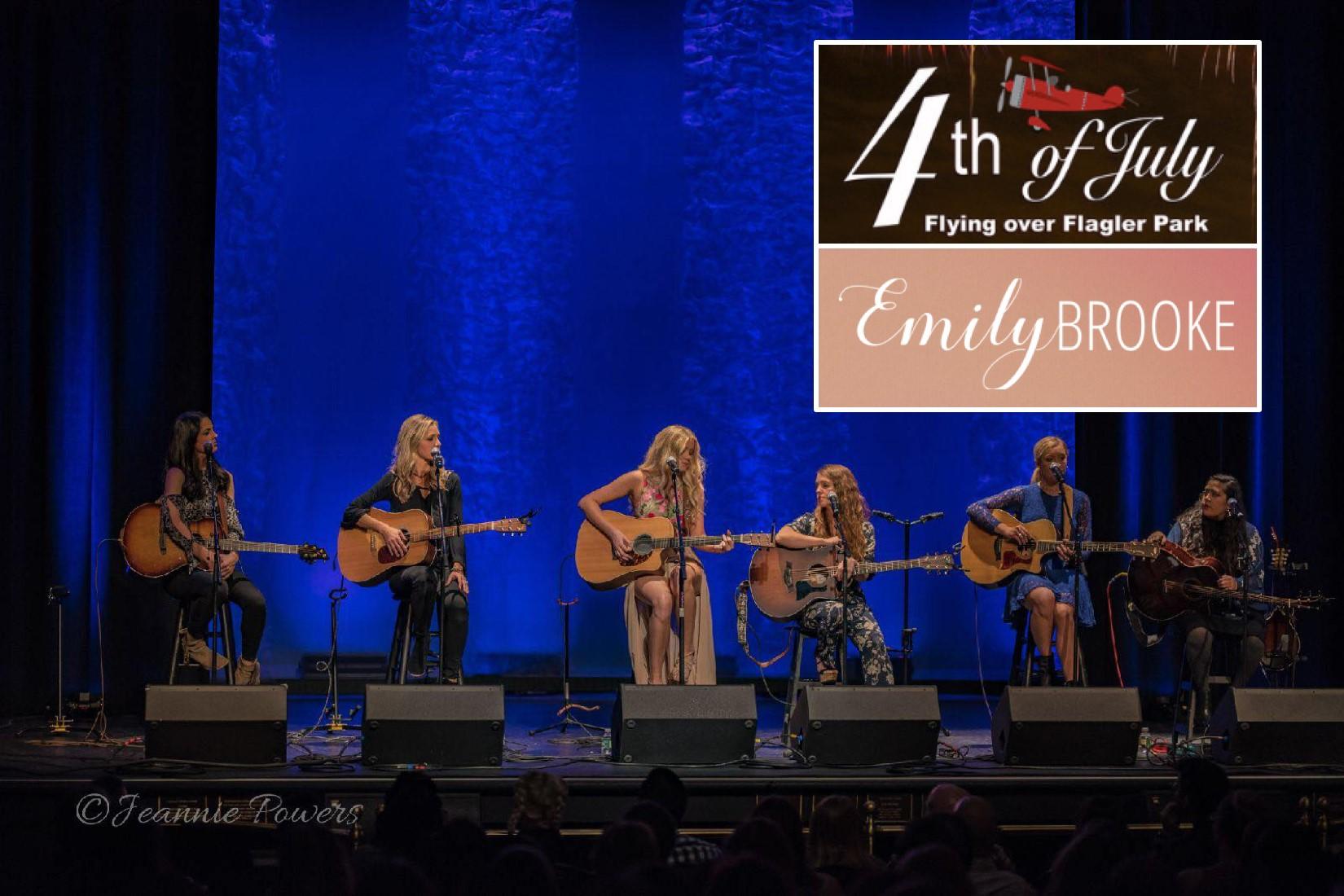Emily Brooke Band at 4th of July